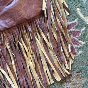 Tilly's Bags - 🆕 Tilly's Faux Leather Fringe Purse/Bag